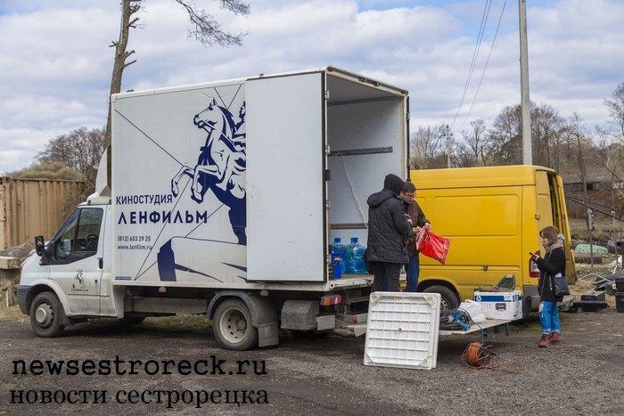 В Сестрорецке снимали кино «Черно-белые танцы»