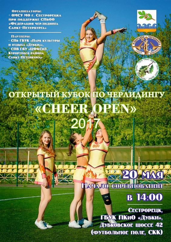Открытый Кубок по черлидингу «Cheer Open - 2017»