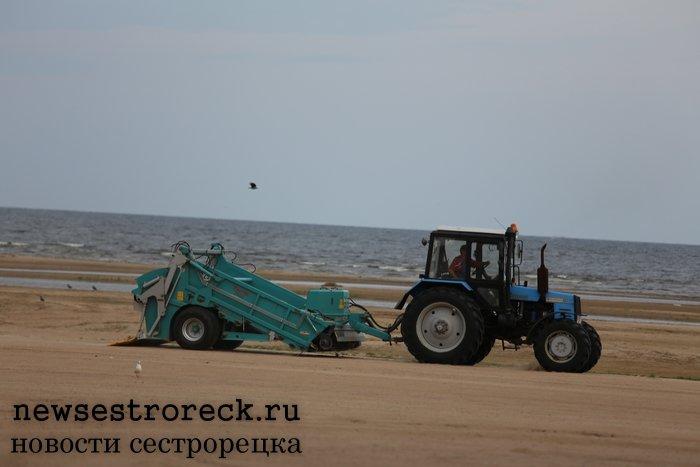 Пляжи Курортного района готовят к летнему сезону 2017 года
